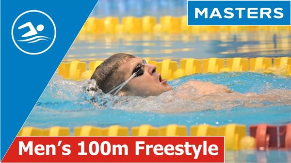 Men's 100m Freestyle Swim, Masters Swimming Videos, www.swim.by, Swim Videos, MASTERS SWIMMING YOUTUBE CHANNEL, Swim.by