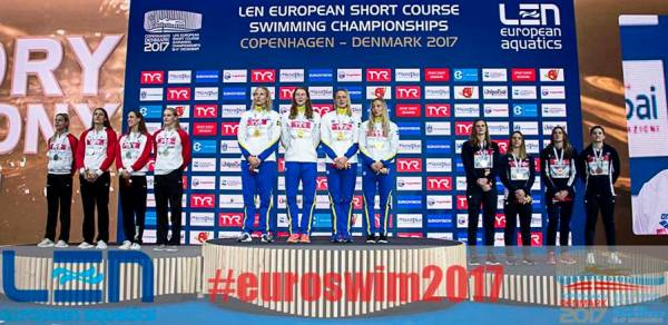 2017 European Short Course Swimming Championships, winners, medalists, championship results, EMG, Swim.by