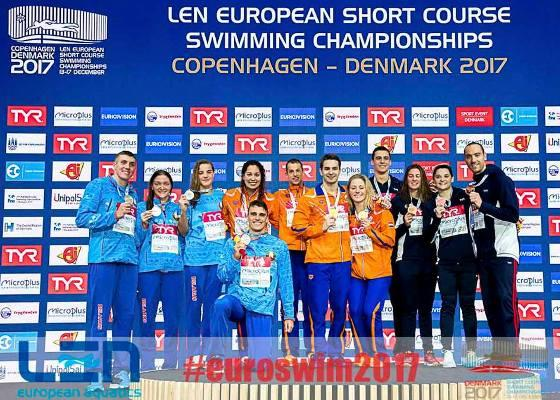 2017 European Short Course Championships, winners, medalists, swimming results