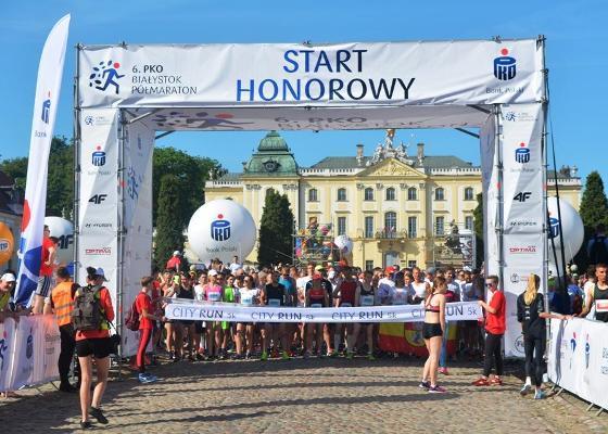 Białystok City Run 5K, Białystok Half Marathon 2018, Poland Running