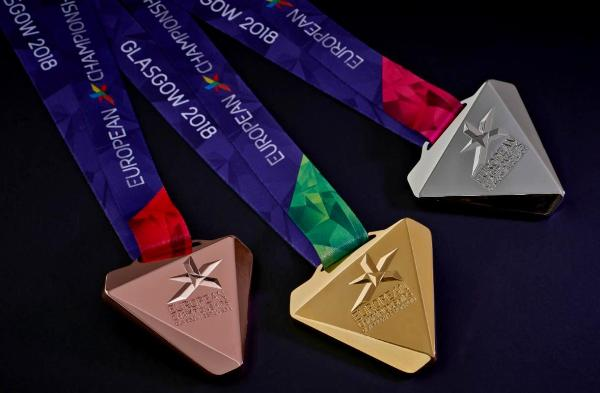 2018 European Championships, medals presentation, www.swim.by, 2018 European Championships medals, Glasgow 2018 medals, Berlin 2018 medal, Медали Чемпионата Европы, Чемпионат Европы 2018 медали, Glasgow European Championships, Berlin European Championships 2018, EMG, Swim.by