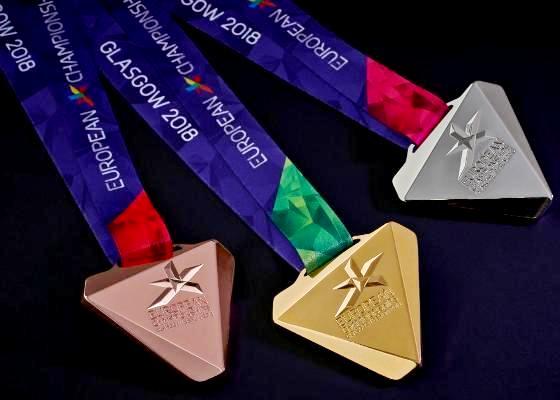 2018 European Championships, medals presentation