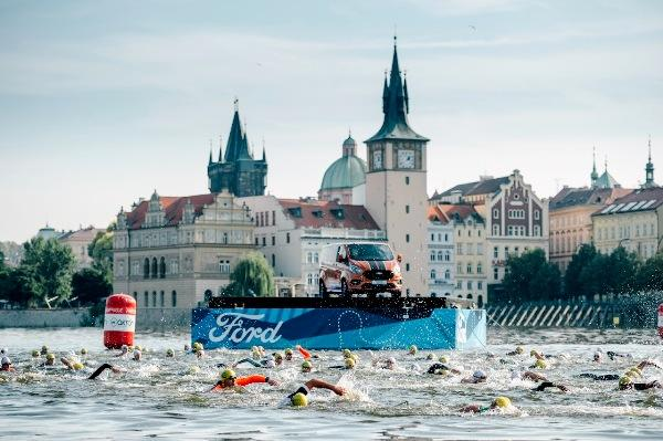 2019 FORD CHALLENGE PRAGUE Triathlon, Challenge Prague Triathlon Medal, www.swim.by, Challenge Prague Medal, CHALLENGE PRAGUE Triathlon, Swim.by