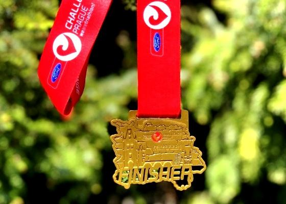 2019 FORD CHALLENGE PRAGUE Triathlon Medal, Challenge Prague Medal, www.swim.by, Triathlon Prague Medal, Swim.by