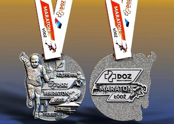 2019 DOZ Maraton Łódź Medals Prizes, Maraton Łódź 2019, www.swim.by, Lodz Marathon 2019, Marathon Lodz 2019