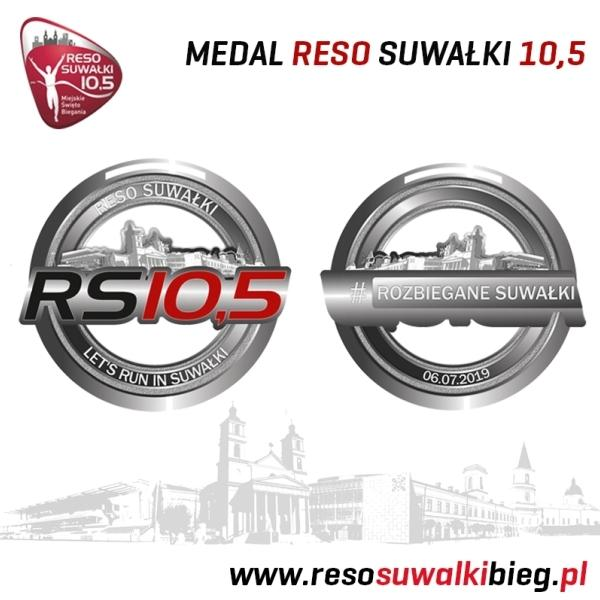 2019 RESO Suwałki 10,5, Night Run Poland, Running Medals Poland, www.swim.by, RESO Suwałki Bieg, Suwalki Night Run, Suwalki Run, Running in Poland, Swim.by