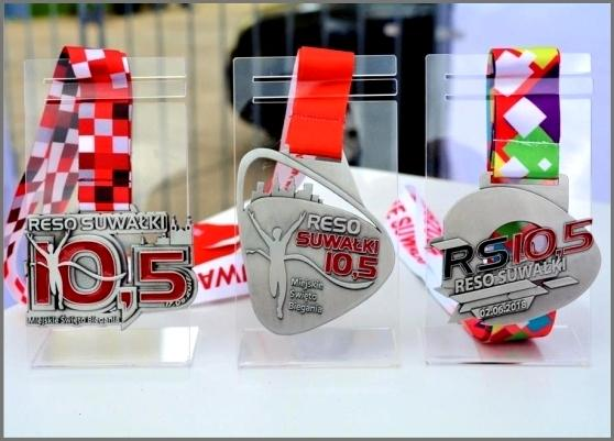 2019 RESO Suwałki 10,5, Night Run Poland, Running Medals Poland