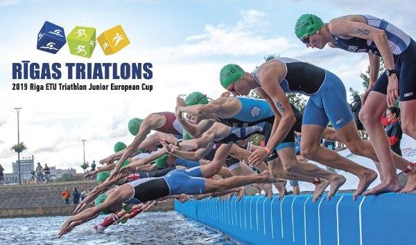 2019 Riga ETU Triathlon Junior European Cup, www.triathlon.lv, Rigas Triatlons 2019, Riga Triathlon Results, Swim.by