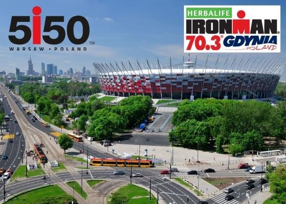 5150 Warsaw Triathlon, Herbalife IRONMAN 70.3 Gdynia 2017