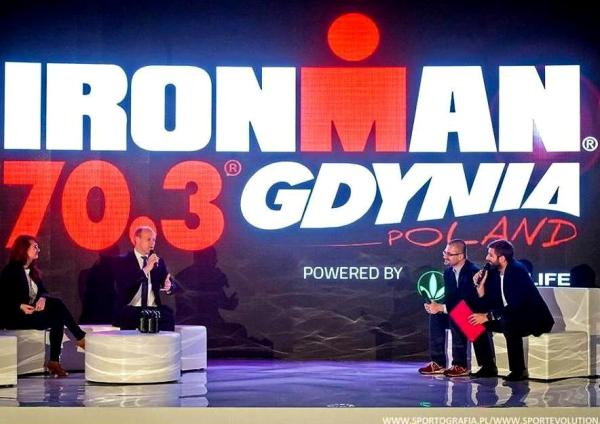 Презентация триатлона IRONMAN 70.3 Gdynia 2017, триатлон Ironman, Team Swim