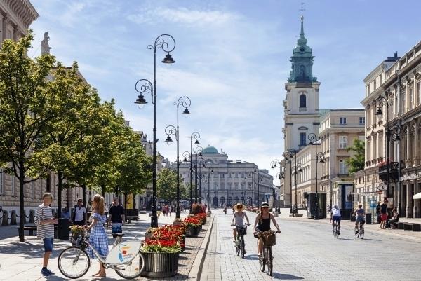 5150 Warsaw Triathlon, Краковское Предместье, Варшава
