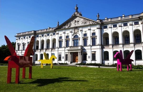 5150 Warsaw Triathlon, Pałac Krasińskich