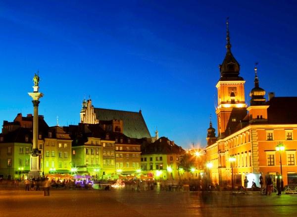 5150 Warsaw Triathlon, Рынок Старого Города и Замковая Площадь в Варшаве