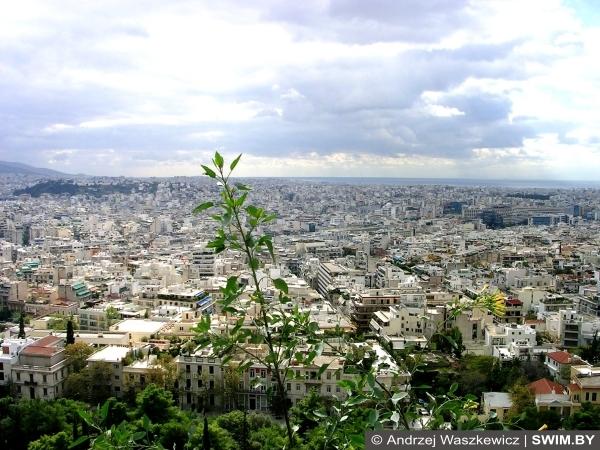 Афины, фото, панорама