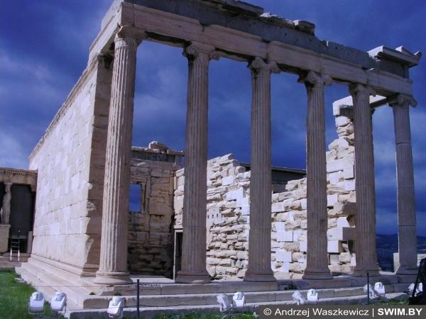Афины, храмы, Боги Греции
