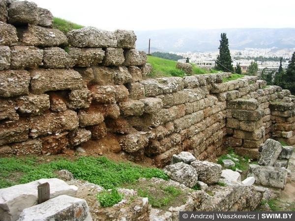 Афины, история Греции, swim.by