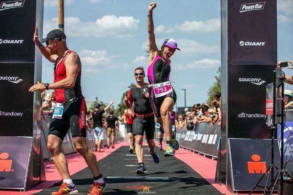 Agnieszka Jerzyk triathlon, Matthew Nelson, Enea IRONMAN 5150 Warsaw Triathlon 2018, Ironman Poland, www.swim.by, 5150 Warsaw Triathlon, Swim.by
