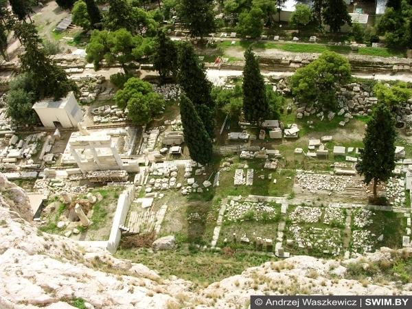 Агора, Афины, Акрополь