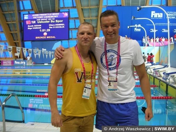 Alexey Gulakov swimming
