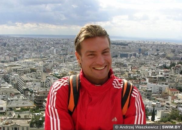 Andrzej Waszkewicz, Olympic Games, Афины, Олимпиада, Андрей Вашкевич плавание