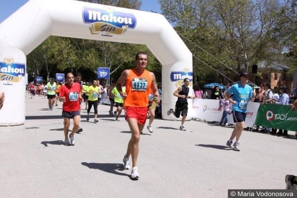 Andrzej Waszkewicz бег марафон Мадрид