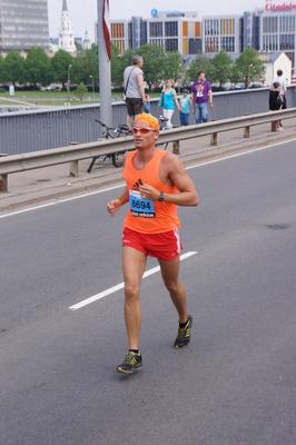 Andrzej Waszkewicz бег марафон