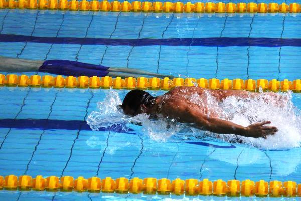 Andrzej Waszkewicz, butterfly swimming, Poland