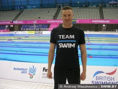 Andrzej Waszkewicz, European masters swimming championships 2016, London 2016, Team Swim