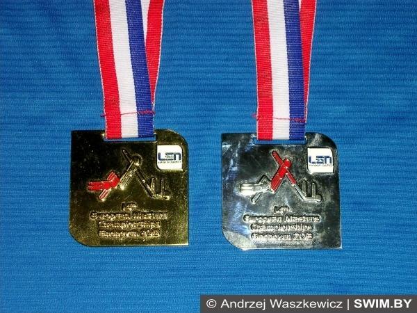 Andrzej Waszkewicz, European masters swimming championships 2013