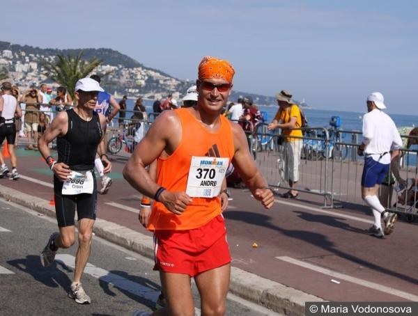 Тренировки по бегу Ironman триатлон Andrzej Waszkewicz марафон