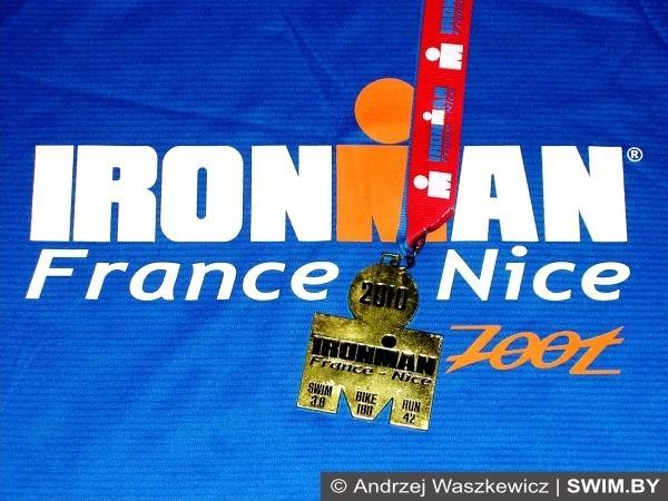 Andrzej Waszkewicz, Ironman triathlon, France
