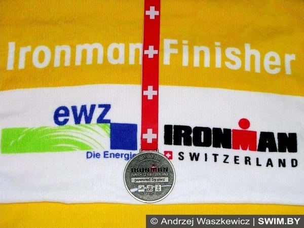Андрей Вашкевич становится IRONMAN, триатлон, Switzerland