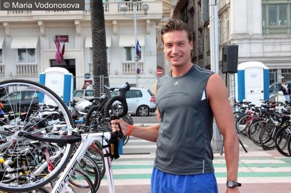 Подготовка к Ironman триатлон в Ницце Andrzej Waszkewicz