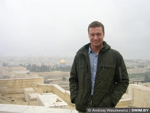 Andrzej Waszkewicz, Иерусалим, Израиль, сезон дождей зимой