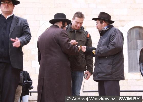 Andrzej Waszkewicz, Иерусалим, Израиль