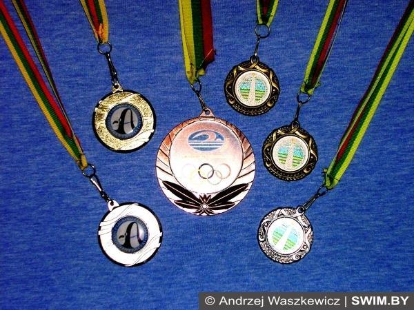 Andrzej Waszkewicz, lithuanian swimming champion