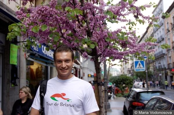 Andrzej Waszkewicz Мадрид марафон бег 42 км