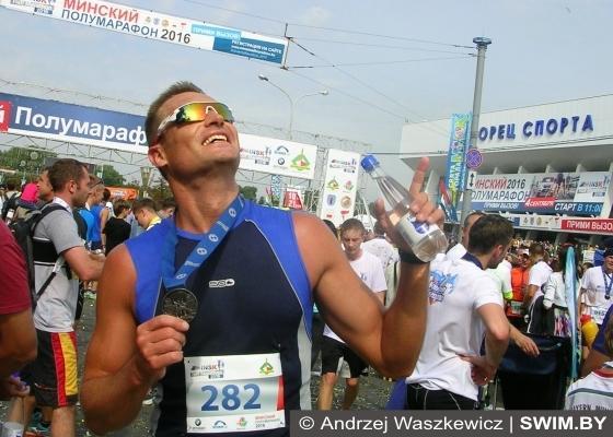 Minsk Half Marathon 2016, Andrzej Waszkewicz, Минский полумарафон 2016, Анджей Вашкевич