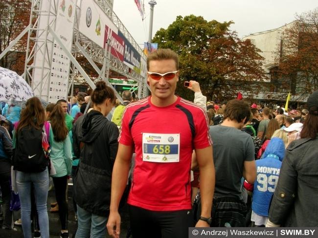 Andrzej Waszkewicz, Minsk Marathon 2015