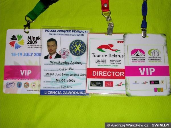 Andrzej Waszkewicz, Андрей Вашкевич, организатор, спортивные соревнования