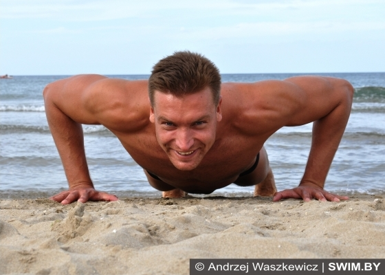Andrzej Waszkewicz - отжимания от пола, упражнения