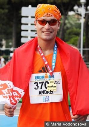 Andrzej Waszkewicz Андрей Вашкевич мой первый Ironman триатлон