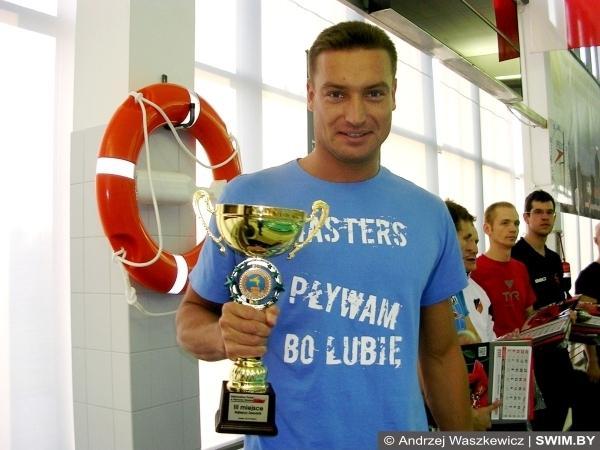 Andrzej Waszkewicz, Poland masters swimming championships in Krakow