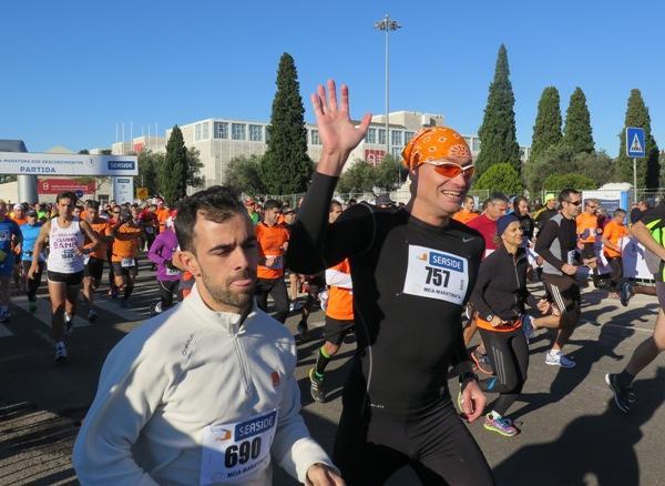 Andrzej Waszkewicz Portugal running, Анджей Вашкевич бег