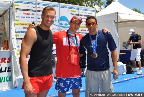 Andrzej Waszkewicz, спорт, swimming, Казань 2015