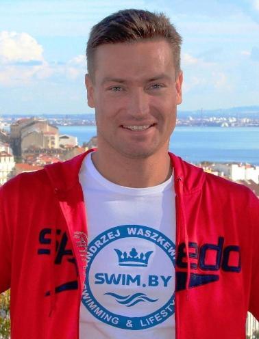Andrzej Waszkewicz, Анджей Вашкевич, SWIM.BY, плавание