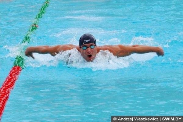 Andrzej Waszkewicz swimming, Андрей Вашкевич плавание