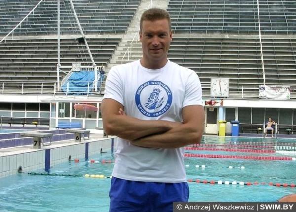 Andrzej Waszkewicz, Swimmpower Prague, Анджей Вашкевич плавание