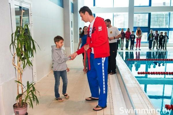 Андрей Вашкевич, тренер, плавание, Минск, мастерс