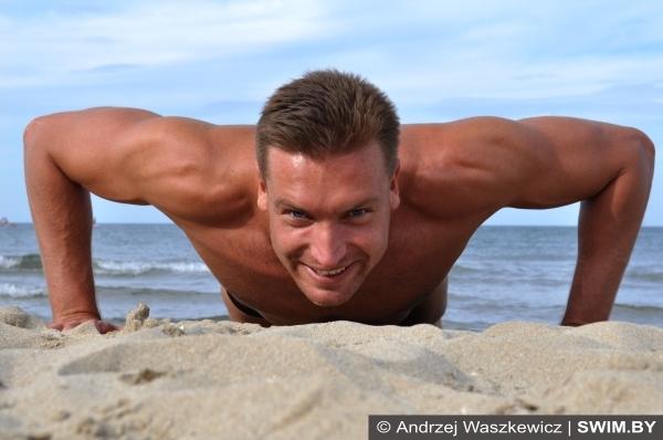 Andrzej Waszkewicz тренировки, Андрей Вашкевич плавание тренировки